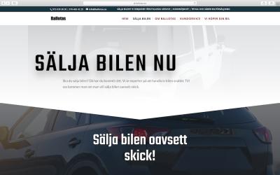 Vi välkomnar Ballotas som jobbar med bilförsäljning
