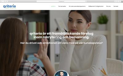 Qriteria skapar sin WordPress platform med oss